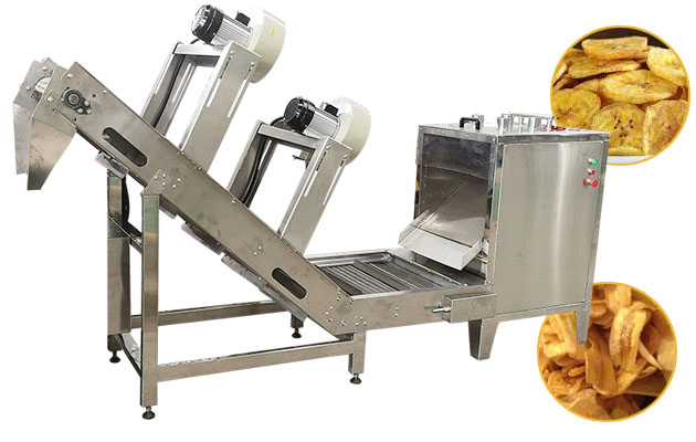 Automatic Plantain Banana Chips Production Line