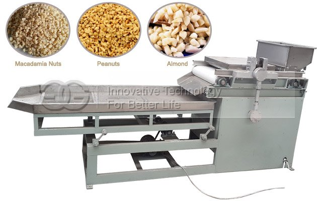 Macadamia Nuts Chopping Machine|Peanut Particles Choper Cutter Machine