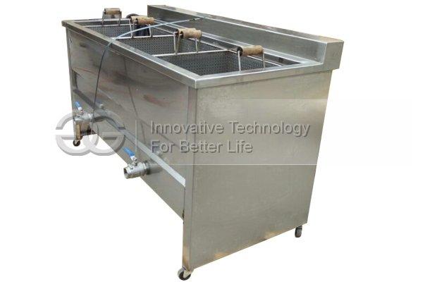 Three Baskets Snack Frying Machine