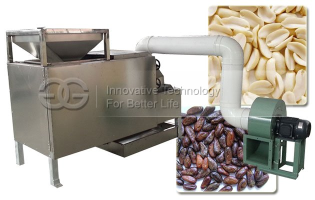 Roasted Cocoa Bean Peeler Machine