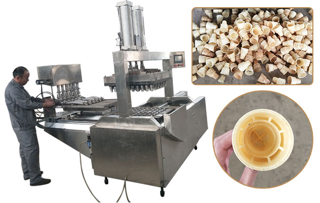 Automatic Ice cream Wafer Cone Production Line - Cone Making Machine