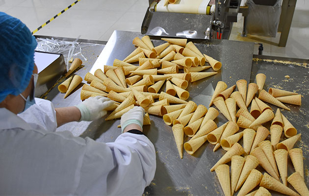 Industrial Sugar Cone Baking Machine