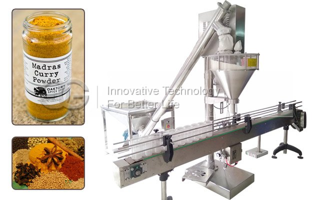 Bottle Powder Filling Machine