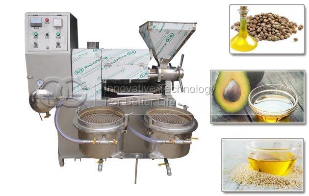 Screw Avocado Oil Press Machine|Oil Extraction Machine