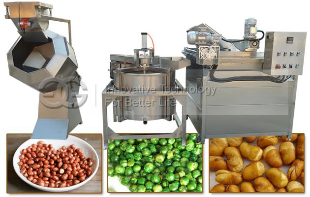 Automatic Peanut Fryer Machine with Filter