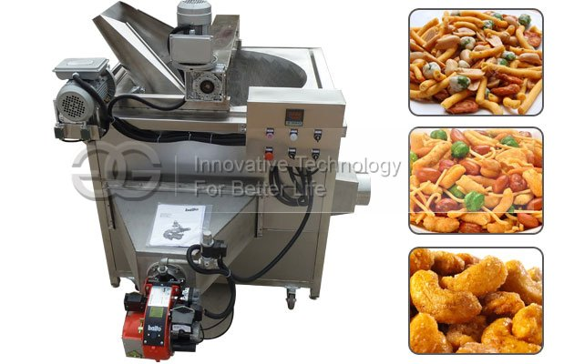 Commercial Gas Puffed Food Snack Fryer Machine