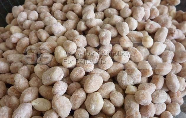 Honey Flour Coated Peanuts Making Machine Production Line