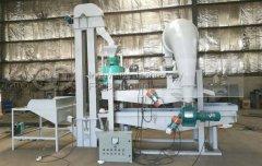 Buckwheat Hulling Machine to Estonia