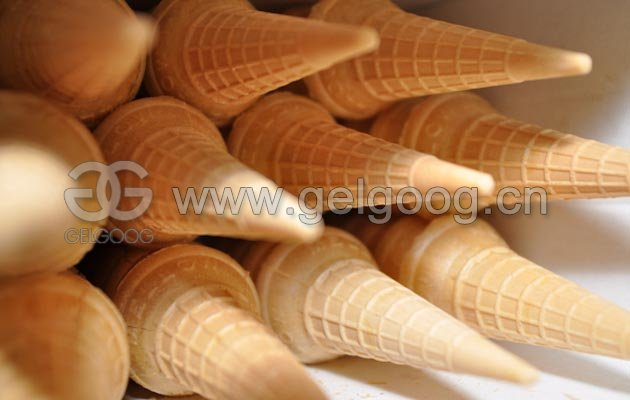 Ice Cream Cone Wafer Forming Machine