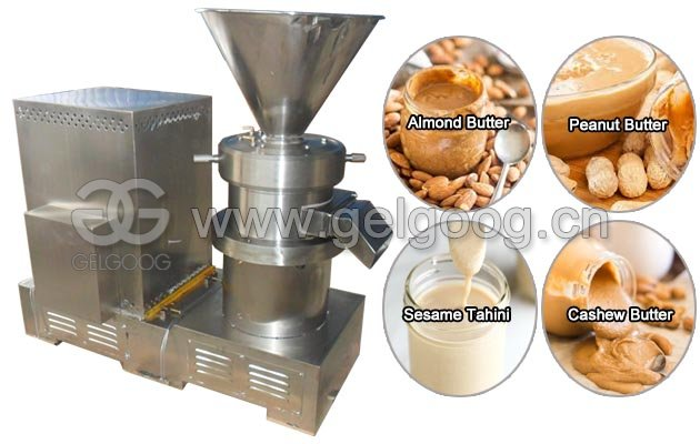Commercial Stone Grinder for Nut Butters