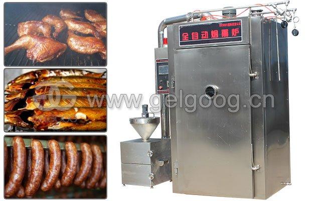 Industrial Meat/Fish/Sausage/Chicken Smoking Machine Oven