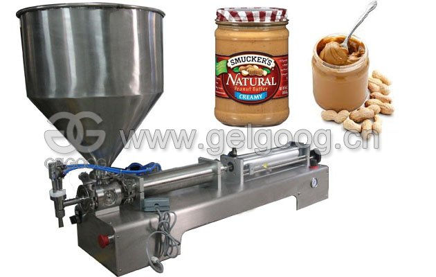 Peanut Butter Jar Filling Machine