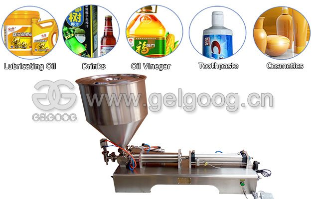 Semi Automatic Peanut Butter Jar Filling Machine