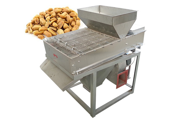 Groundnut Frying and Peeling Machine