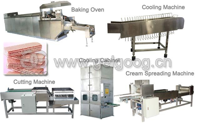 Electric Wafer Biscuit Production Line