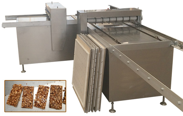 Peanut Brittle Kaju Katli Cutting Machine Barfi Making Machine