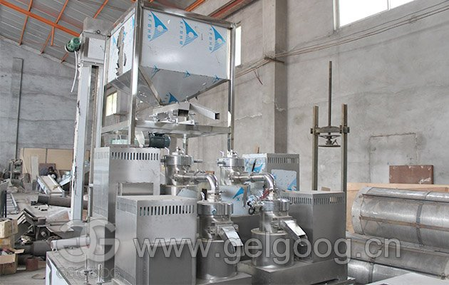 Industrial Peanut Butter Processing Line