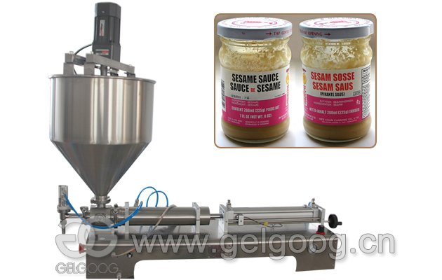 Manual Hand Operated Sesame Paste Filling Machine for Sale