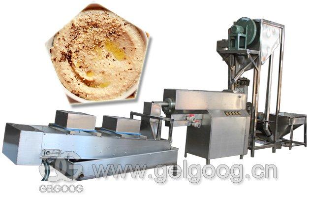 Automatic Sesame Paste Tahini Production Line 1000 kg/h