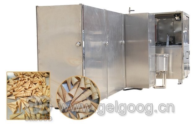 Automatic Ice Cream Cone Production Line 5000 pcs/h