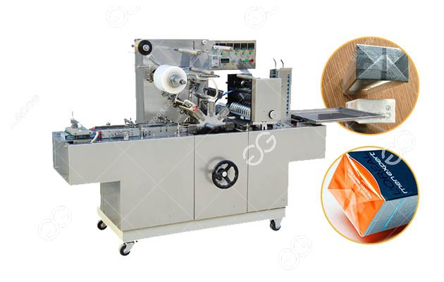 Automatic Cellophane Wrapping Machine for Perfume with Tear Seal