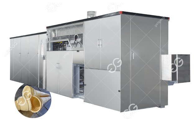 Automatic Ice Cream Wafer Cone Processing Equipment Line DWL40-6